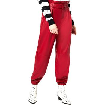 Textiel Dames Chino's Liu Jo WA0276 E0392 Rouge