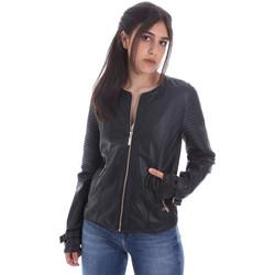 Textiel Dames Leren jas / kunstleren jas Gaudi 011BD38001 Zwart