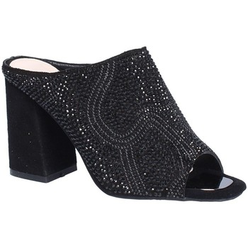 Schoenen Dames Leren slippers Alma En Pena V18276 Zwart