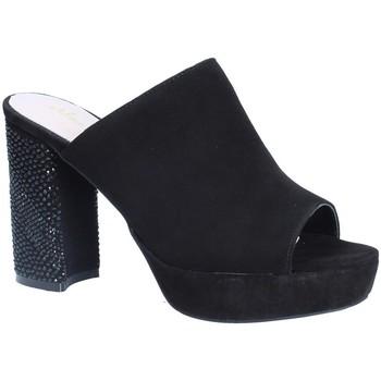 Schoenen Dames Leren slippers Alma En Pena V18256 Zwart