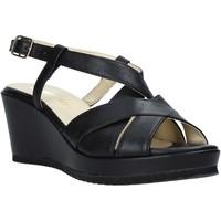 Schoenen Dames Sandalen / Open schoenen Esther Collezioni ZB 018 Zwart