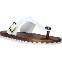 Schoenen Dames Slippers Sensi 4050/P Wit