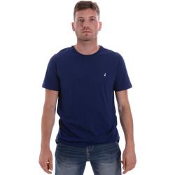 Textiel Heren T-shirts korte mouwen Navigare NV31126 Blauw