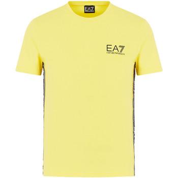 Textiel Heren T-shirts korte mouwen Ea7 Emporio Armani 3HPT07 PJ03Z Geel