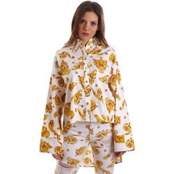 Textiel Dames Overhemden Versace B0HVB624S0771003 Wit