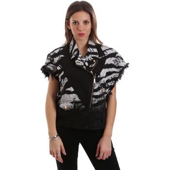 Textiel Dames Wind jackets Versace C0HVB92DHRC5X899 Zwart
