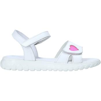Schoenen Meisjes Sandalen / Open schoenen Melania ME6070F0S.A Blanc