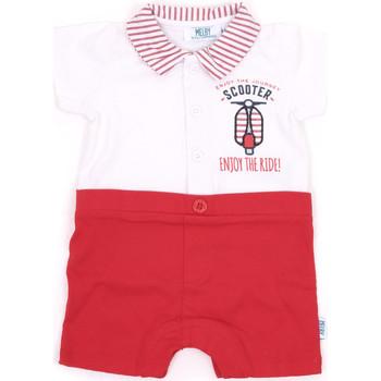 Textiel Meisjes Jumpsuites / Tuinbroeken Melby 20P7370 Rood