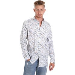Textiel Heren Overhemden lange mouwen Sseinse CE491SS Wit