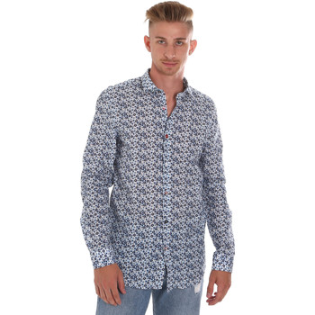 Textiel Heren Overhemden lange mouwen Sseinse CE508SS Blauw