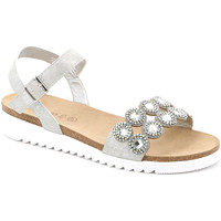 Schoenen Dames Sandalen / Open schoenen Grunland SB1582 Zilver
