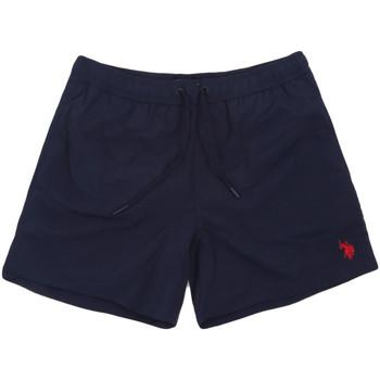 Textiel Heren Zwembroeken/ Zwemshorts U.S Polo Assn. 56488 52458 Blauw