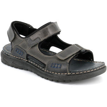 Schoenen Heren Sandalen / Open schoenen Grunland SA2526 Zwart
