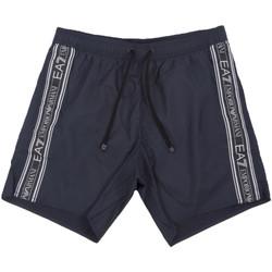 Textiel Heren Zwembroeken/ Zwemshorts Ea7 Emporio Armani 902000 0P734 Blauw