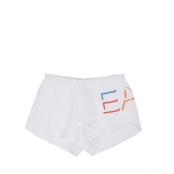 Textiel Heren Zwembroeken/ Zwemshorts Ea7 Emporio Armani 902024 0P739 Wit
