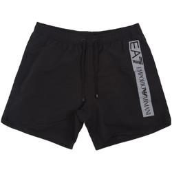Textiel Heren Zwembroeken/ Zwemshorts Ea7 Emporio Armani 902000 0P732 Zwart
