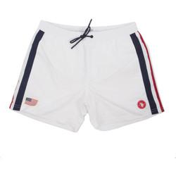 Textiel Heren Zwembroeken/ Zwemshorts U.S Polo Assn. 58450 52458 Wit