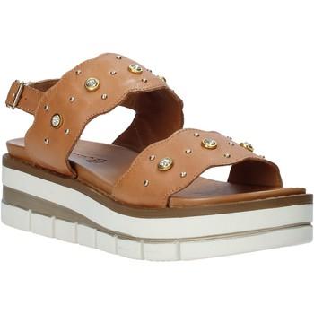 Schoenen Dames Sandalen / Open schoenen Grunland SA2545 Bruin