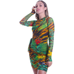 Textiel Dames Korte jurken Versace D2HVB495S0782983 Zwart