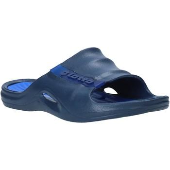 Schoenen Heren Slippers Lotto L49342 Blauw