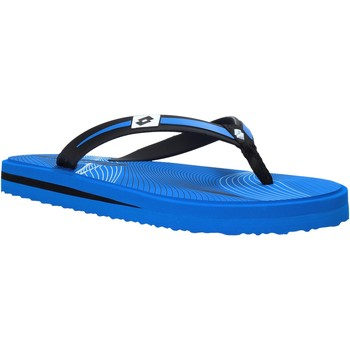 Schoenen Heren Slippers Lotto L58324 Blauw