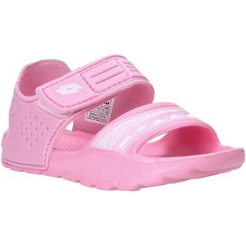 Schoenen Meisjes Sandalen / Open schoenen Lotto L52298 Roze