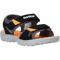 Schoenen Kinderen Sandalen / Open schoenen Lotto L55098 Zwart