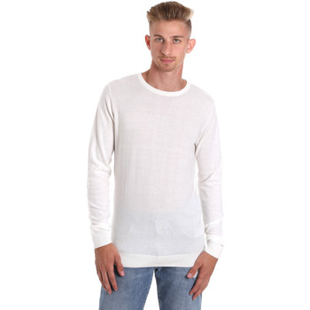 Textiel Heren T-shirts met lange mouwen Sseinse ME1504SS Wit