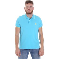 Textiel Heren Polo's korte mouwen U.S Polo Assn. 58561 41029 Blauw