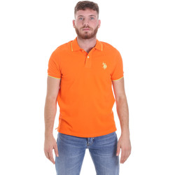 Textiel Heren Polo's korte mouwen U.S Polo Assn. 58561 41029 Orange
