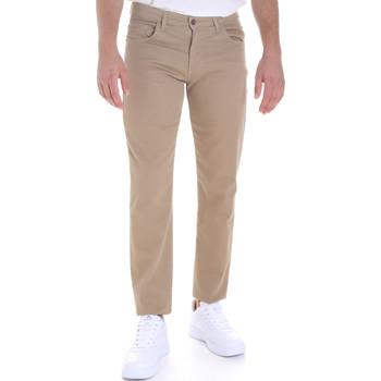 Textiel Heren 5 zakken broeken Les Copains 9U3022 Beige