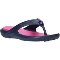 Schoenen Dames Slippers Lotto L46823 Blauw