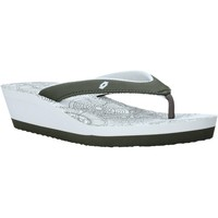 Schoenen Dames Slippers Lotto L58326 Blanc
