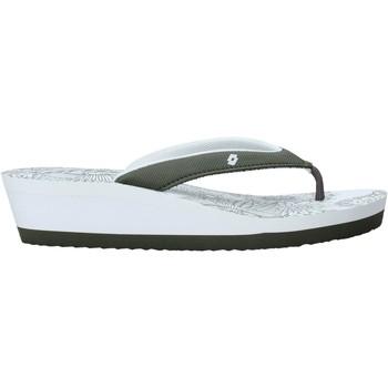 Schoenen Dames Slippers Lotto L58326 Wit