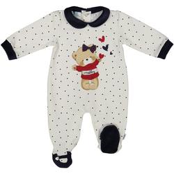 Textiel Kinderen Jumpsuites / Tuinbroeken Melby 20N0681 Wit