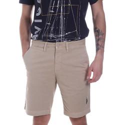 Textiel Heren Korte broeken / Bermuda's U.S Polo Assn. 57319 49492 Beige