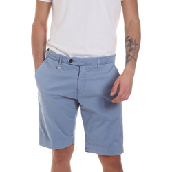 Textiel Heren Korte broeken / Bermuda's Antony Morato MMSH00141 FA800129 Blauw