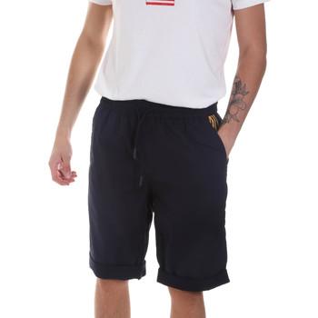 Textiel Heren Korte broeken / Bermuda's Antony Morato MMSH00144 FA900118 Blauw