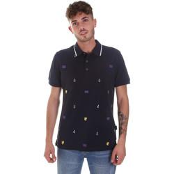 Textiel Heren Polo's korte mouwen Navigare NV82120 Blauw