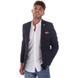 Textiel Heren Jasjes / Blazers Sseinse GAE606SS Blauw