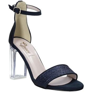 Schoenen Dames Sandalen / Open schoenen Grace Shoes 018TR003 Blauw