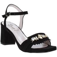Schoenen Dames Sandalen / Open schoenen Grace Shoes 116V005 Zwart