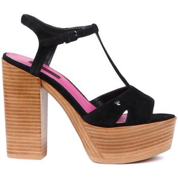 Schoenen Dames Sandalen / Open schoenen Fornarina PE17KY1012S000 Zwart