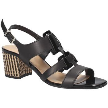 Schoenen Dames Sandalen / Open schoenen Keys 5711 Zwart