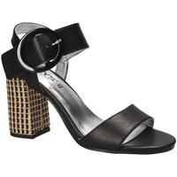 Schoenen Dames Sandalen / Open schoenen Keys 5726 Noir