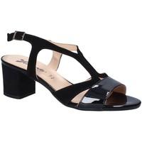 Schoenen Dames Sandalen / Open schoenen Susimoda 2786 Zwart