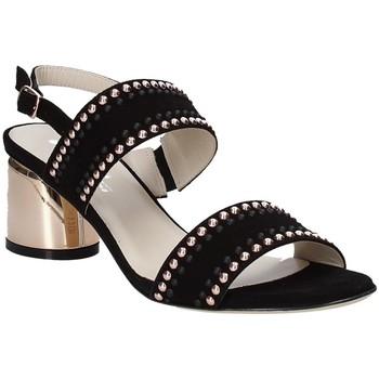 Schoenen Dames Sandalen / Open schoenen Melluso S553M Zwart
