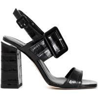 Schoenen Dames Sandalen / Open schoenen Café Noir LE126 Zwart