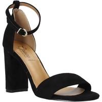 Schoenen Dames Sandalen / Open schoenen Grace Shoes 934G003 Zwart