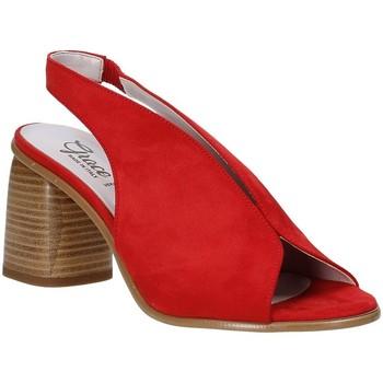 Schoenen Dames Sandalen / Open schoenen Grace Shoes 492S001 Rood
